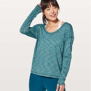 Lululemon Meant To Move Long Sleeve Size 4